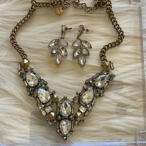 Stella & Dot EARRING AND NECKLACE SET